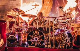 Jay Weinberg (Slipknot) SJC Custom Drums spielen