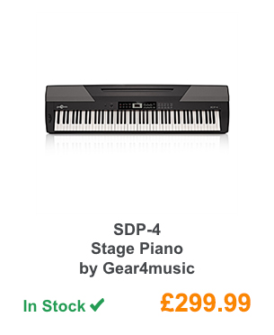 SDP-4 Stage Piano by Gear4music.