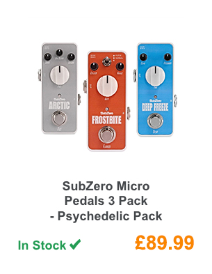 SubZero Micro Pedals 3 Pack - Psychedelic Pack.