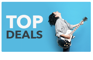 Top deals on Music equipment discounts, special offers & musical instrument deals.