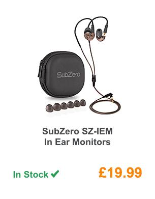 SubZero SZ-IEM In Ear Monitors.