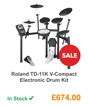 Roland TD-11K V-Compact Electronic Drum Kit.