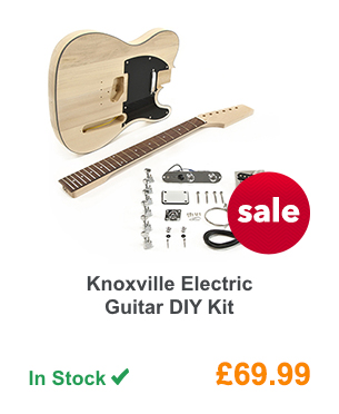 Knoxville Electric Guitar DIY Kit.
