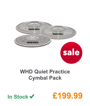 WHD Quiet Practice Cymbal Pack.