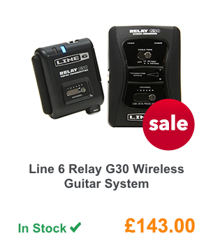 Line 6 Relay G30 Wireless Guitar System.