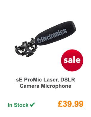 sE ProMic Laser, DSLR Camera Microphone.