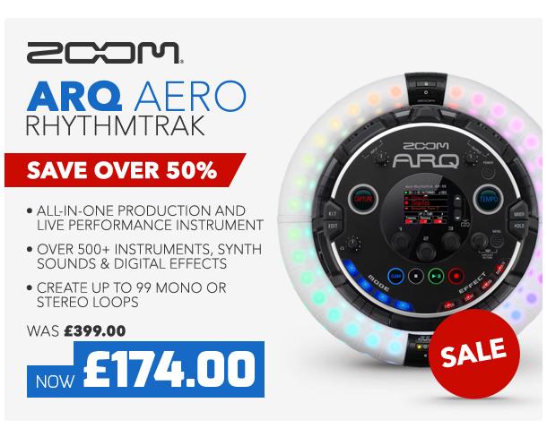 Zoom ARQ Aero RhythmTrak.
