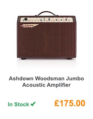 Ashdown Woodsman Jumbo Acoustic Amplifier.
