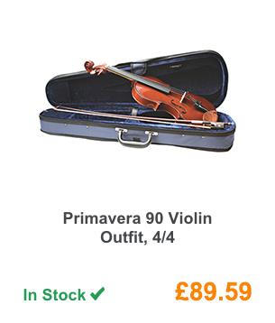 Primavera 90 Violin Outfit, 4/4 .
