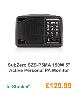 SubZero SZS-P5MA 150W 5inch Active Personal PA Monitor.