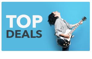 Top deals on Music equipment discounts, special offers & musical instrument deals.