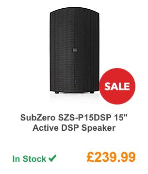 SubZero SZS-P15DSP 15inch Active DSP Speaker.