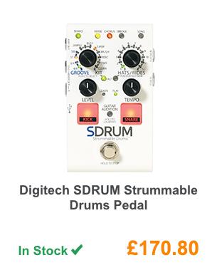 Digitech SDRUM Strummable Drums Pedal.