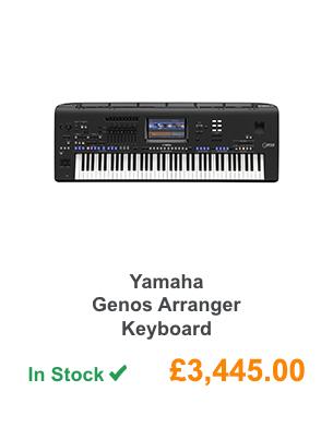 Yamaha Genos Arranger Keyboard.