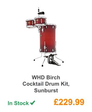 WHD Birch Cocktail Drum Kit, Sunburst.