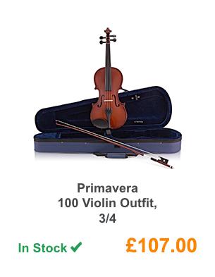 Primavera 100 Violin Outfit, 3/4 .