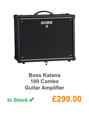 Boss Katana 100 Combo Guitar Amplifier.