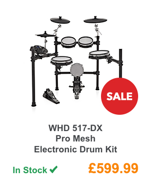 WHD 517-DX Pro Mesh Electronic Drum Kit.