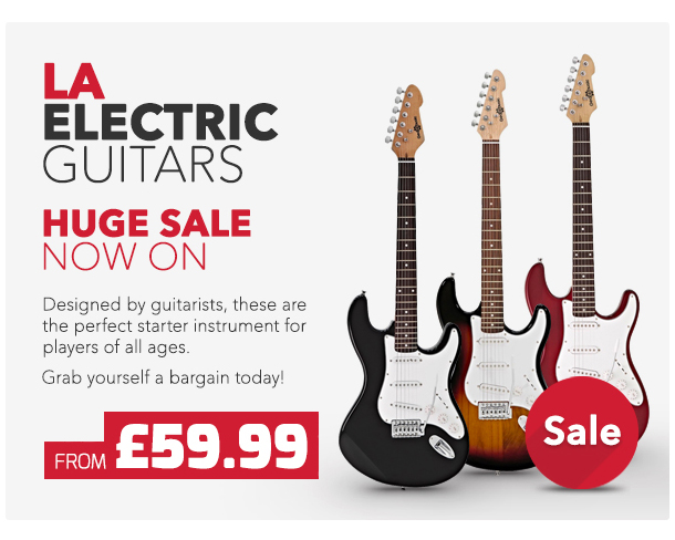 Gear4music LA Electric Guitars Sale