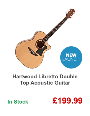 Hartwood Libretto Double Top Acoustic Guitar.