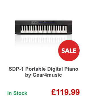 SDP-1 Portable Digital Piano by Gear4music.