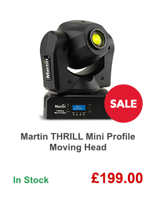 Martin THRILL Mini Profile Moving Head.
