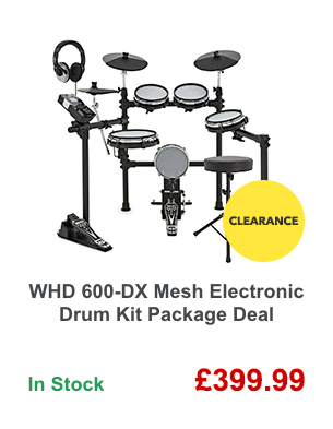 WHD 600-DX Mesh Electronic Drum Kit Package Deal.