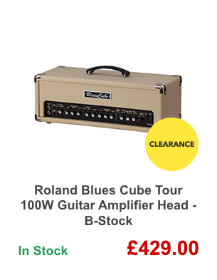 Roland Blues Cube Tour 100W Guitar Amplifier Head - B-Stock.