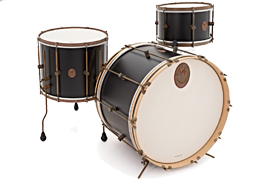 A & F črna Club Drum Kit