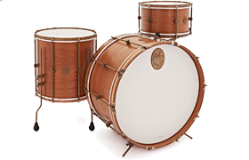 A & F mahagoni Club Drum Kit