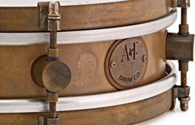 A&F Rude Boy Snare Badge